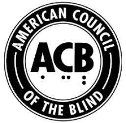 Logo of American Council of the Blind