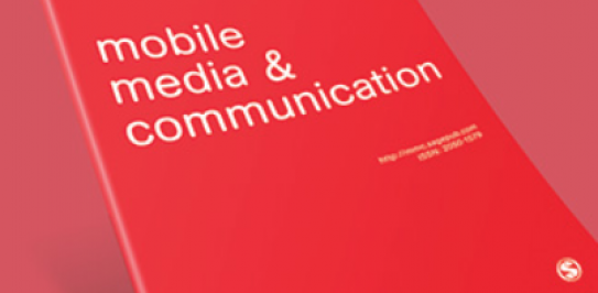 Mobile Media and Communication (2013) logo