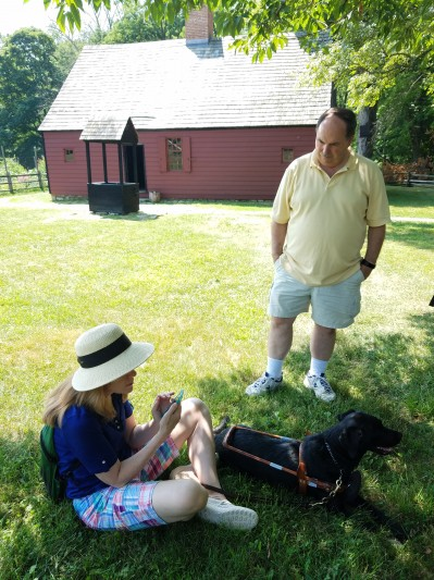 Photo of Testing Audio Description: Morristown National Historical Park, New Jersey (2018)