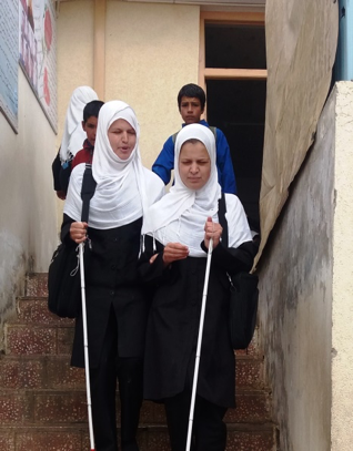 Students at Ghazi Mohammad Khan Jan School section image
