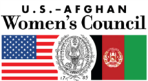US Afghan Women's Council Logo section image
