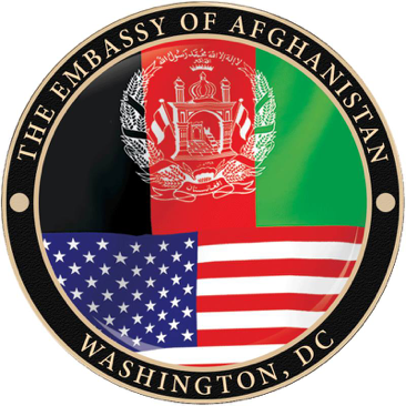 Afghanistan Embassy in United States Logo section image