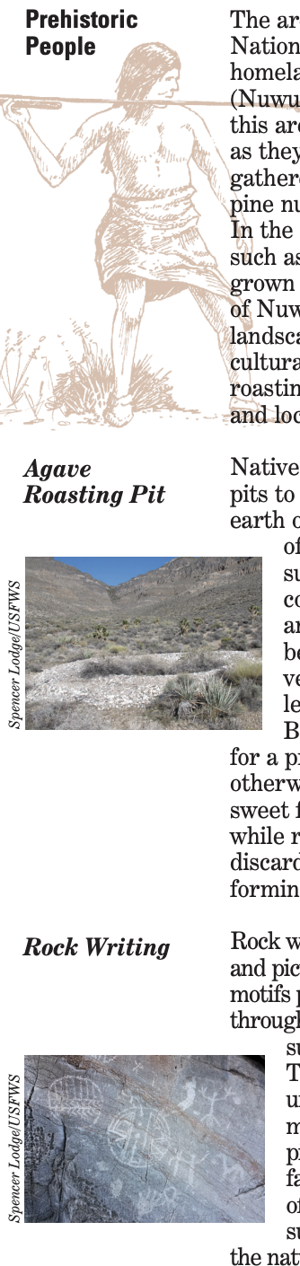 IMAGES AND TEXT: Early history of the refuge section image