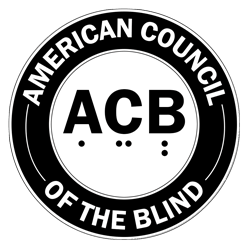 square American Council of the Blind logo